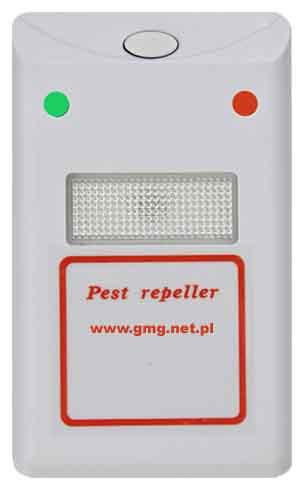 Odstraszacz myszy szczurów kun karaluchów prusaków pajšków RIDEX Odstraszacz myszy szczurów kun karaluchów prusaków pajšków RIDEX