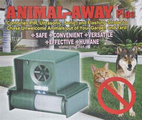 Odstraszacz psów kotów kun łasic szczurów królików Odstraszacz psów kotów kun łasic szczurów królików