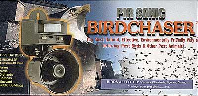 Odstraszacz gołębi szpaków ptaków kun łasic myszy szczurów tchórzy